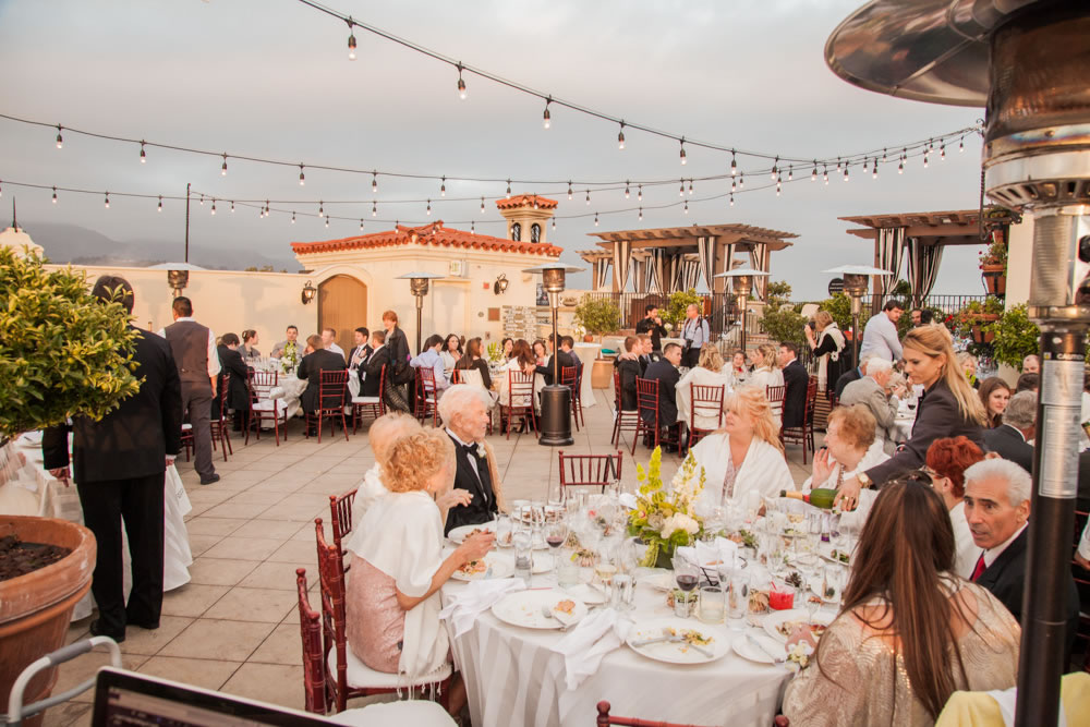 A Few Shots From The Canary Hotel Rooftop In Santa Barbara