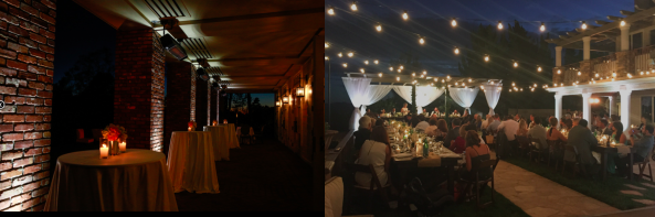 uplighting service in santa barbara
